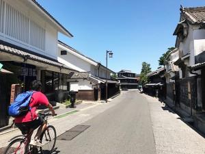 旧東海道筋有松の古い町並み