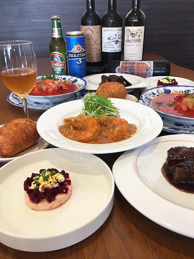 名古屋市緑区有松「食事と喫茶 ユーラシア食堂 さらび」宴会・パーティー・ お食事会