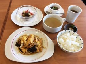 木樨肉 卵と野菜、豚肉の炒め物