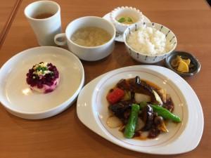 茄子と季節野菜の四川風魚香(ユイシャン)炒め