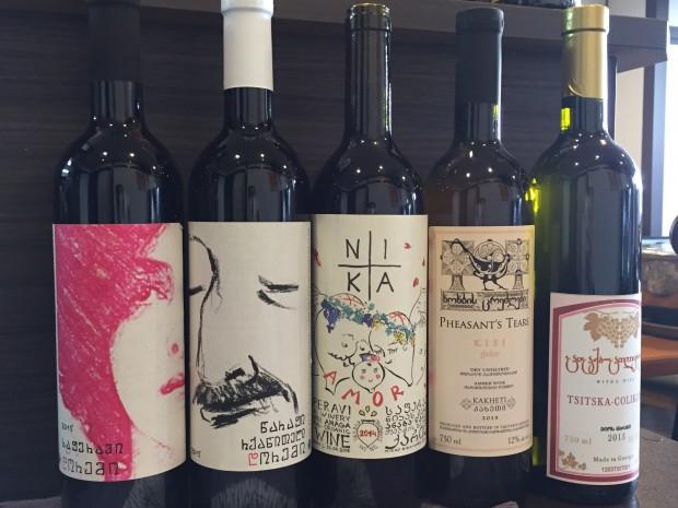ジョージア(グルジア)産自然派ワイン 赤、橙(白)入荷