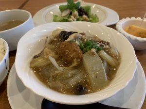 冬瓜と玉ねぎたっぷりの肉団子の天津冬菜煮込み