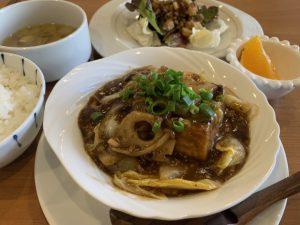 季節野菜と豚そぼろの四川芽菜煮込み0A6D3FAD-ABA7-4C1C-98D7-37976B0C989C