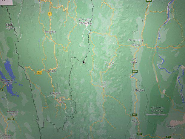 インド ミゾラム国境2AEF4368-B627-4688-9526-50669E3155A1