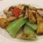 国産鶏胸肉と冬、春野菜の豆豉醬炒め