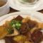 揚げ豆腐と根菜、鶏肉の田舎風煮込み