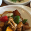 醬爆鶏丁 鶏もも肉とじゃが芋の味噌炒め