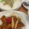 カボチャと柔らかい鶏胸肉の豆豉醬炒め