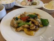季節野菜と国産鶏の豆豉醬炒めAC77519E-CFF0-40B7-8656-46C069F27BDE